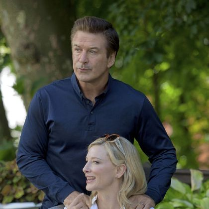 Alec Baldwin portrays her shady husband.